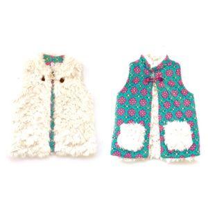 Matilda Jane Reversible Snow Queen Vest Jacket